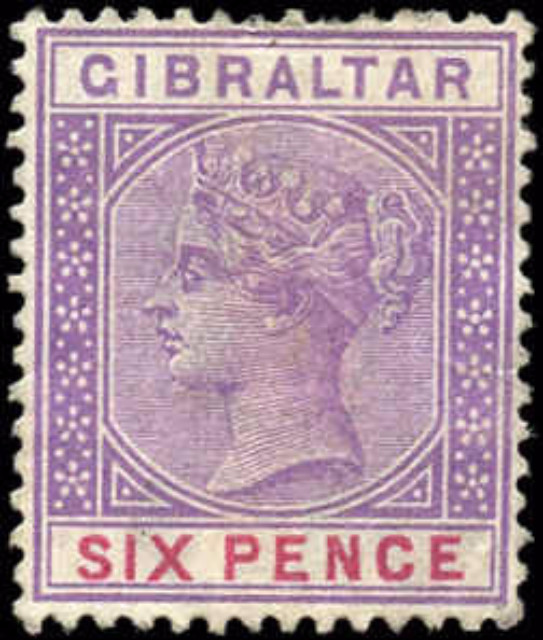 Gibraltar, ##19, F+, Used