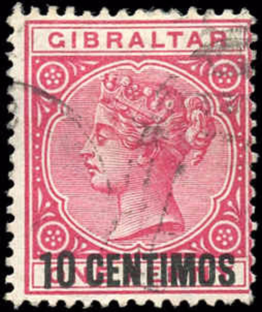 Gibraltar, ##23, F, Used