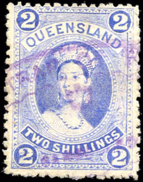 Australian States [Queensland], ##79, F, Used