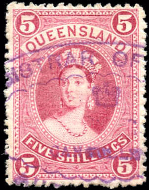 Australian States [Queensland], ##81, F+, Used
