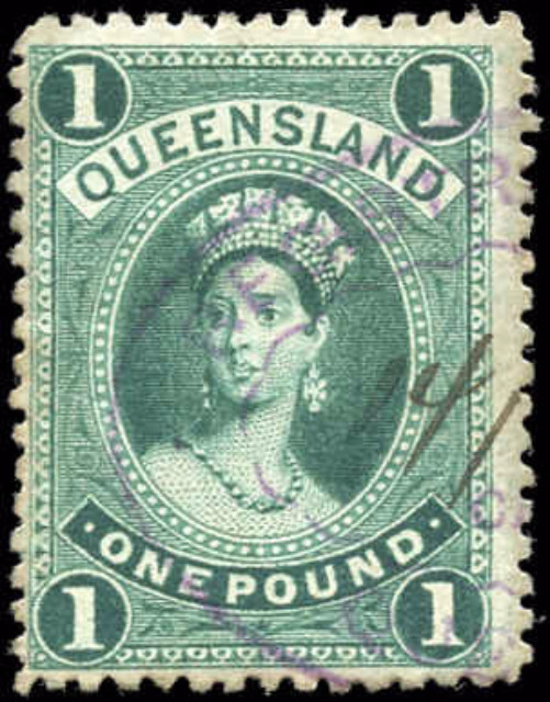 Australian States [Queensland], ##83, F+, Used