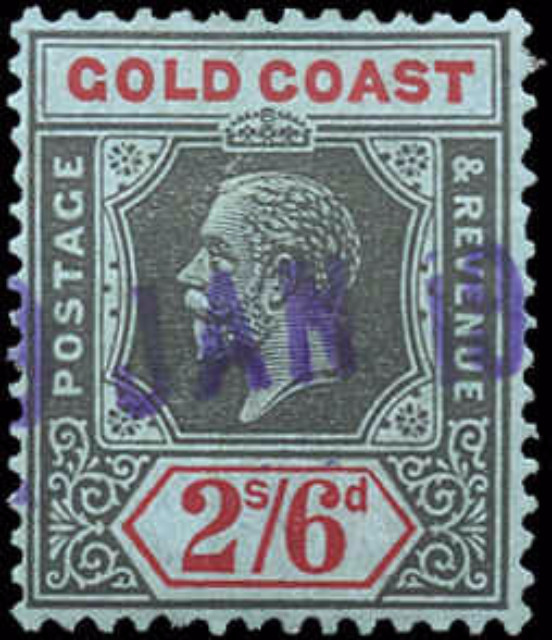 Gold Coast, ##92, F+, Used