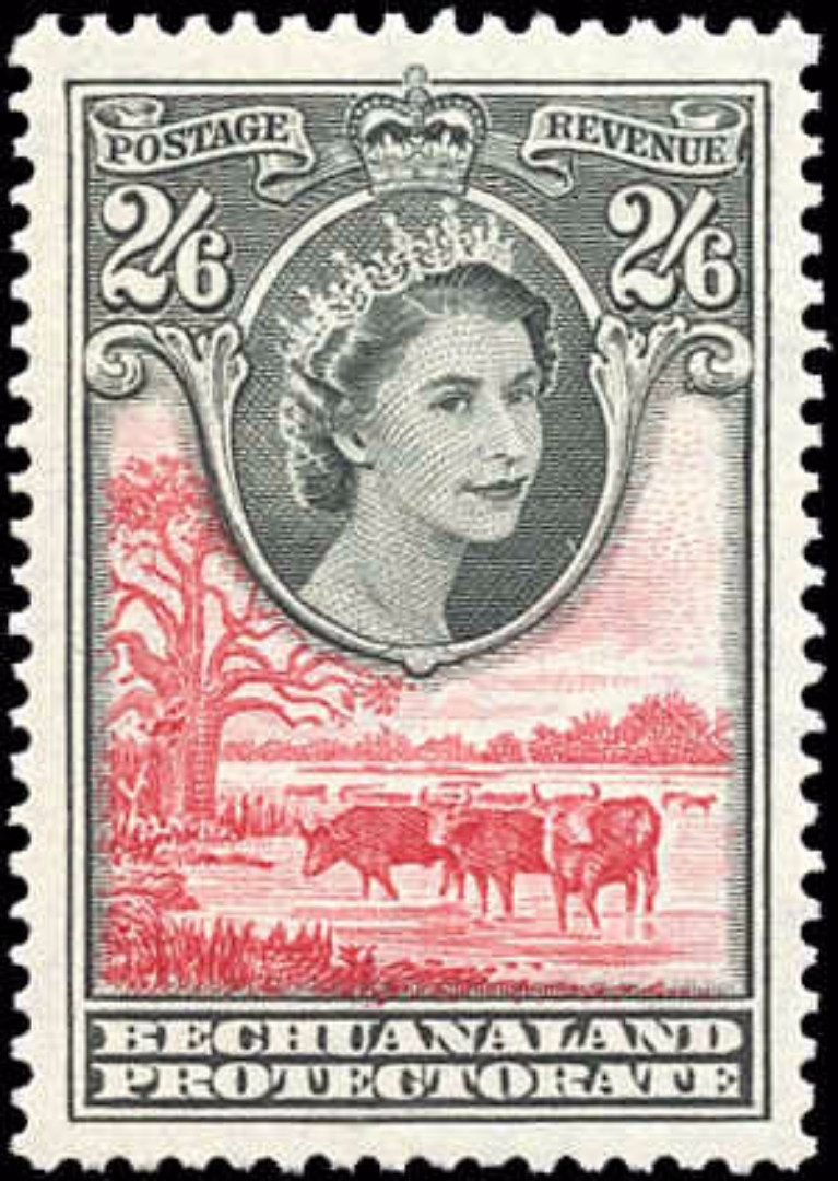 Bechuanaland Protectorate, #163, VF, MH
