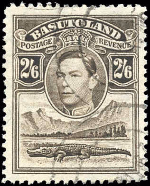 Basutoland, ##26, VF, Used