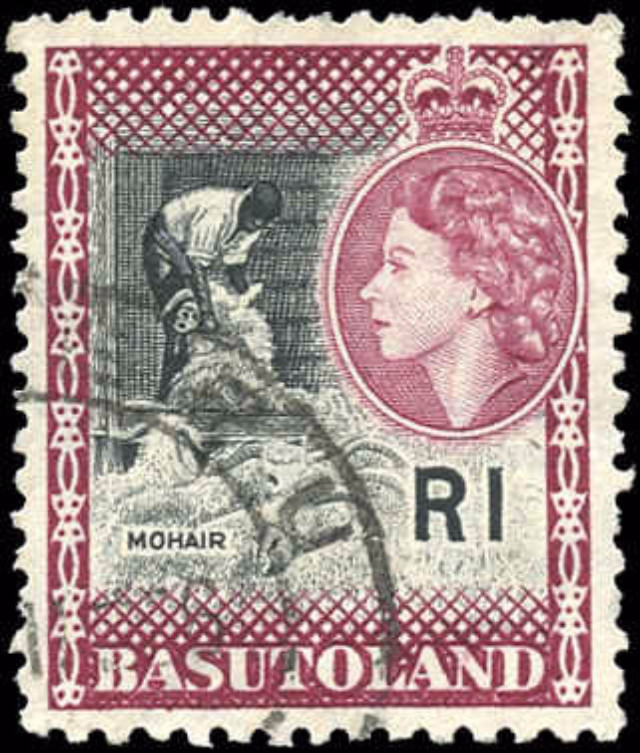 Basutoland, ##82, VF, Used