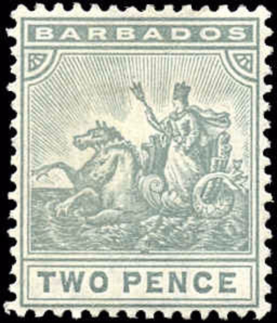 Barbados, ##95, VF, MH