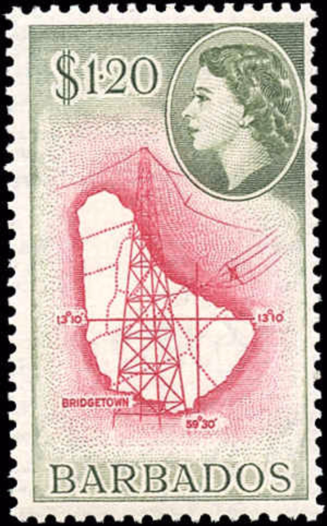 Barbados Stamp, Scott #246, F+, MH