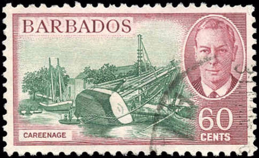 Barbados, #225, VF, Used