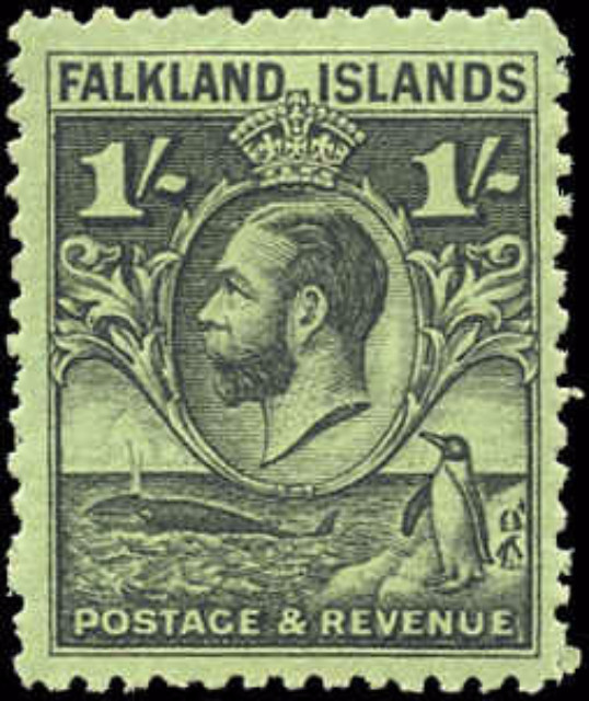 Falkland Islands, ##60A, F-VF, MH