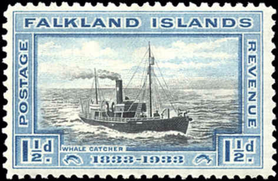 Falkland Islands, ##67, F-VF, MH