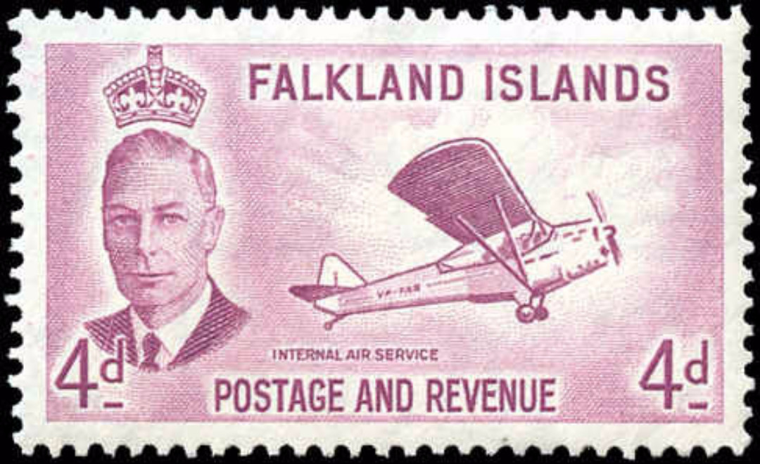 Falkland Islands, #112, VF, MH