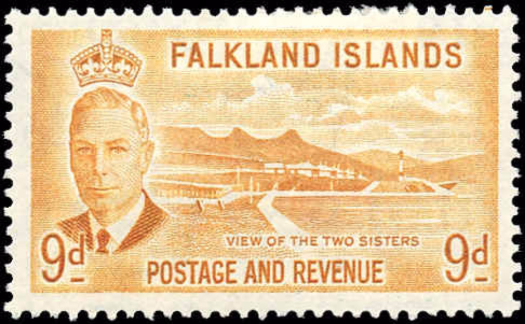 Falkland Islands, #114, VF, MH