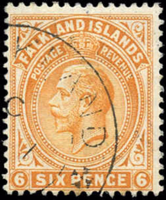 Falkland Islands, ##34, F, Used