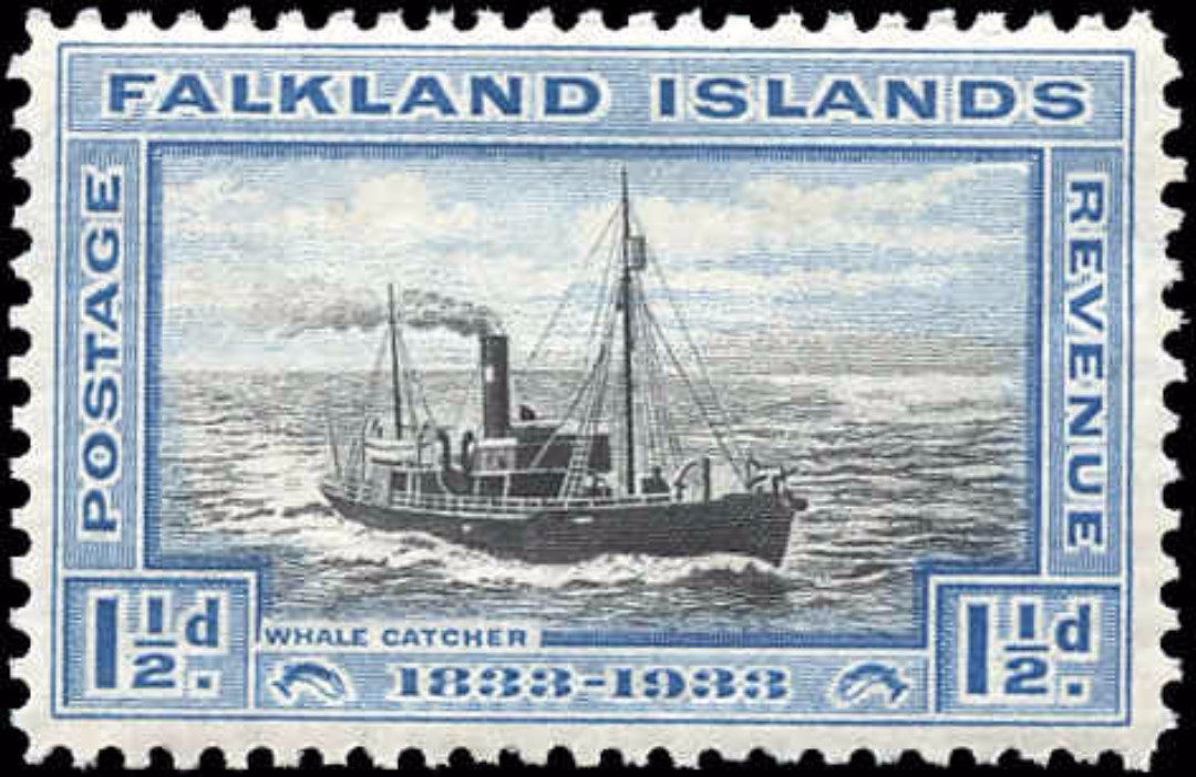 Falkland Islands, ##67, F+, MH