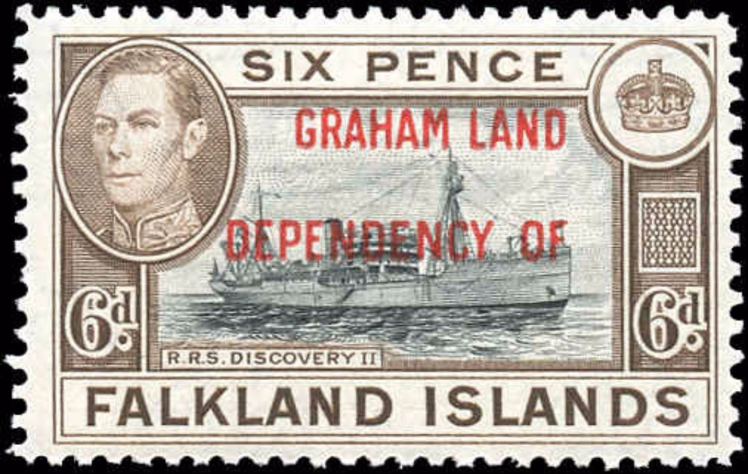 Falkland Islands, 2L6, F-VF, MH