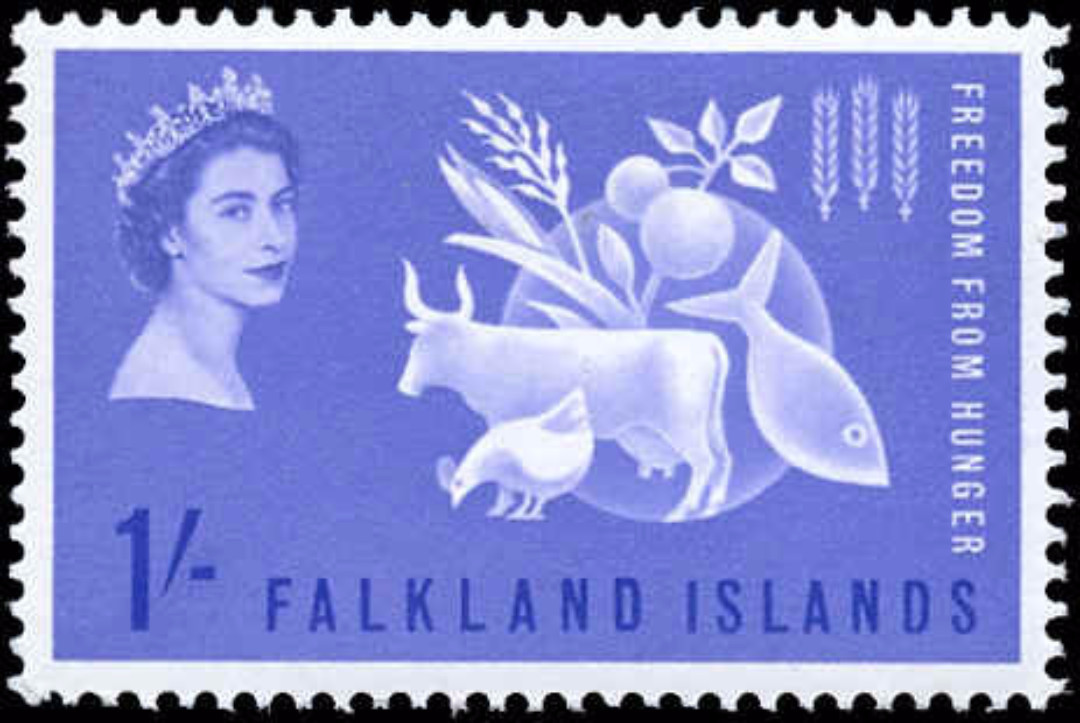Falkland Islands, #146, F-VF, MH