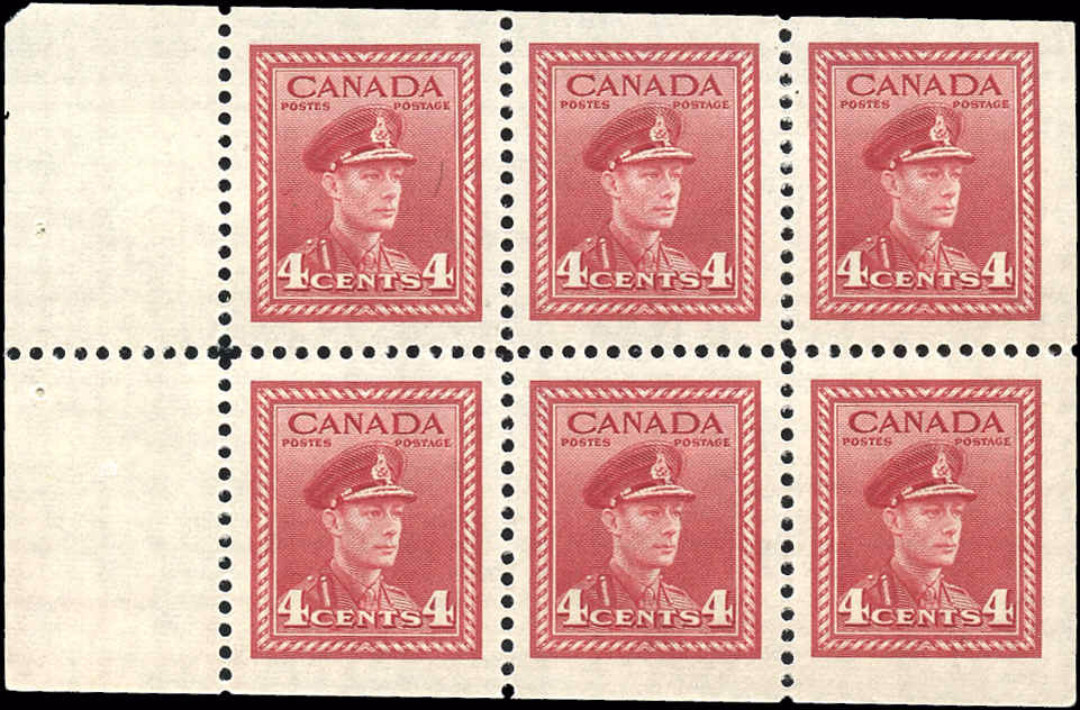 Canada #254ai, War Issue, VF, MNH