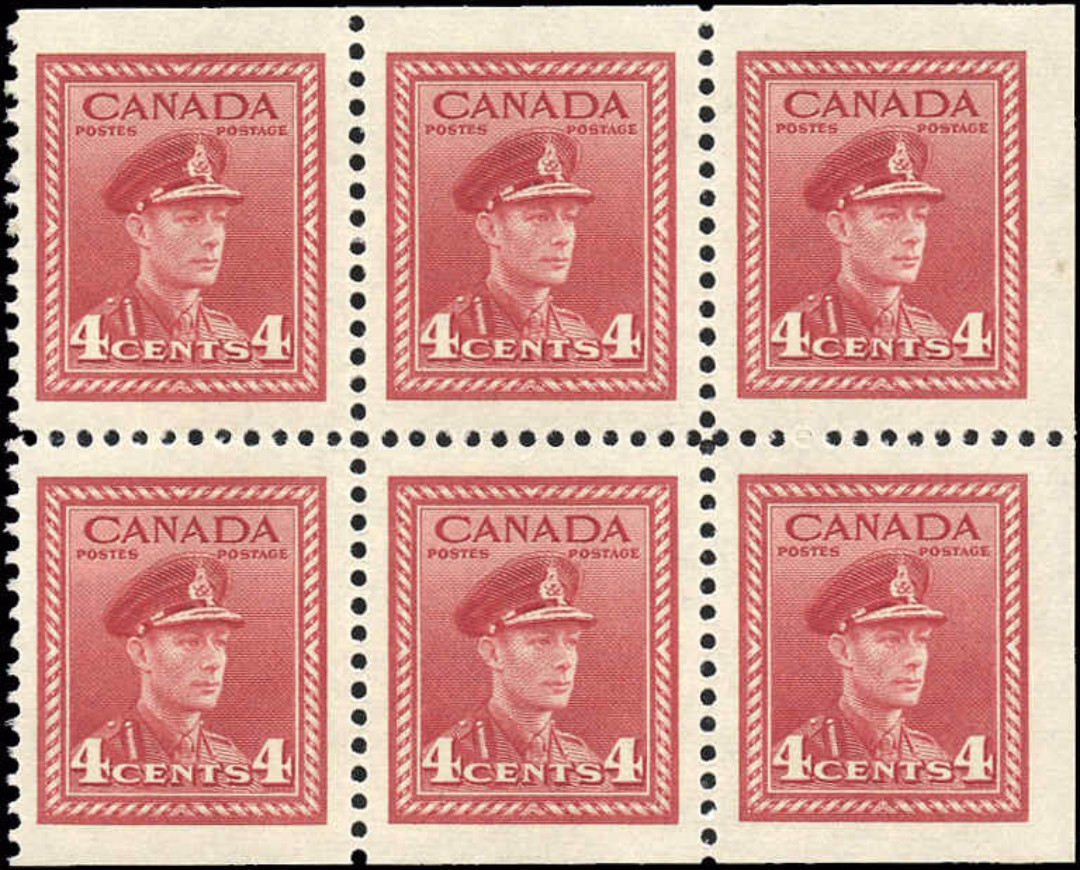 Canada #254a, War Issue, F-VF, MNH