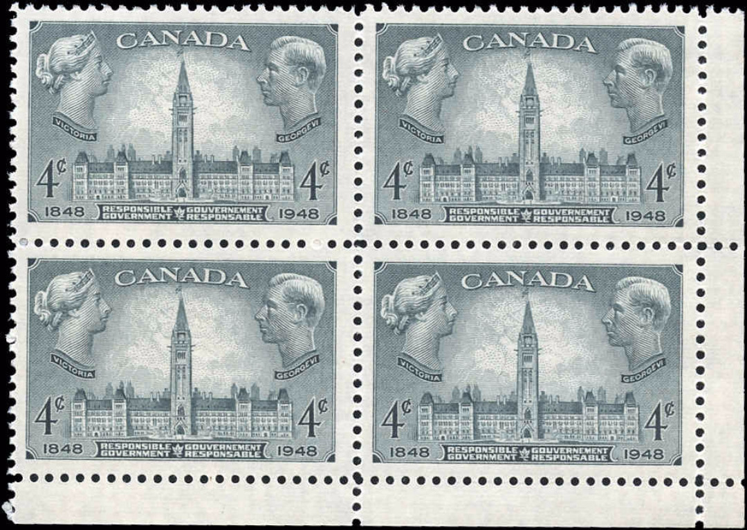 Canada #277, Government Issue, VF, MNH