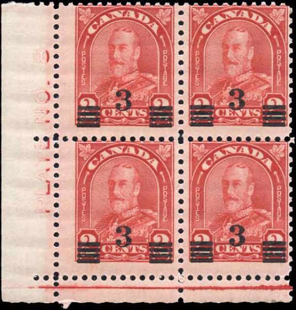 Canada #191, Arch/Leaf Issue, F, MNH