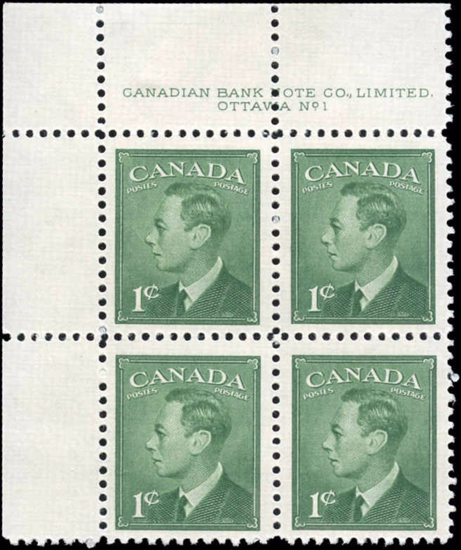 Canada #284, Postes-Postage Issue, MNH