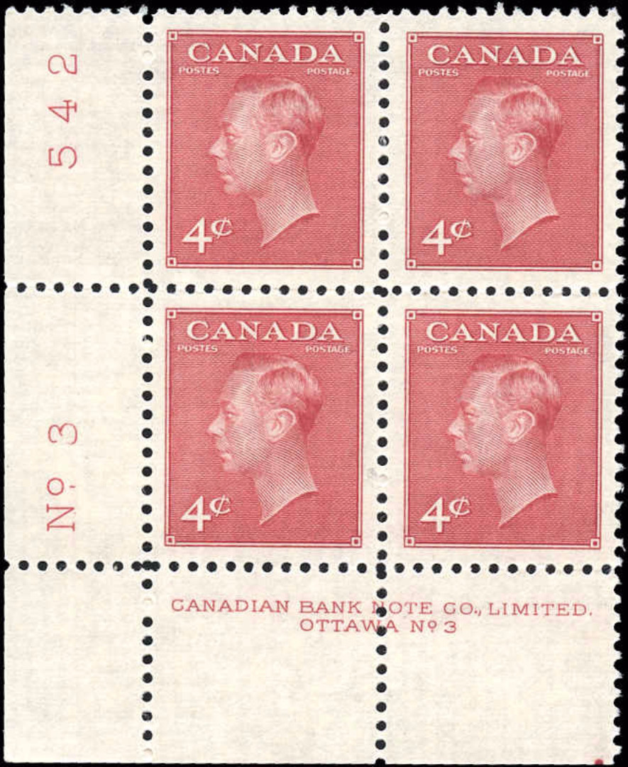 Canada #287, Postes-Postage Issue, VF, MNH