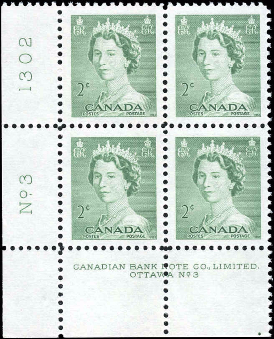 Canada #326, QEII Issue, F-VF, MNH