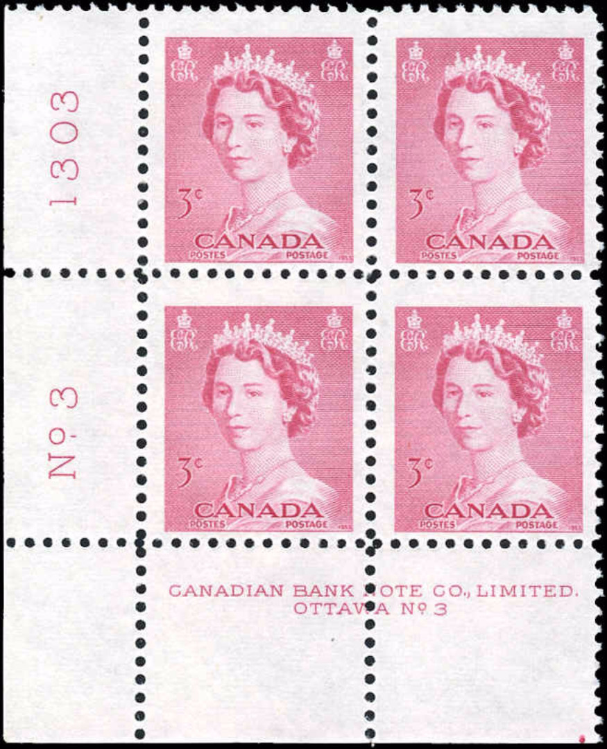 Canada #327, QEII Issue, F-VF, MNH