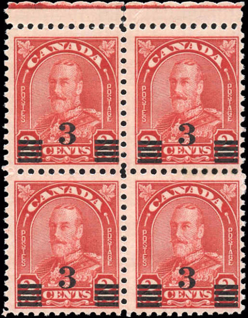 Canada #191, F, Arch/Leaf Issue, MNH/MH