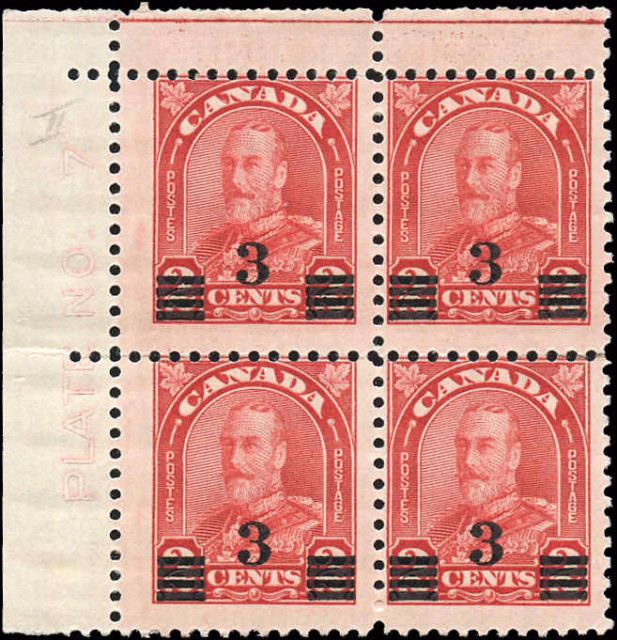 Canada #191, Arch/Leaf Issue, F, MNH/MH