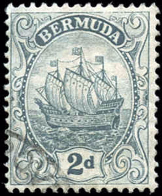 Bermuda Stamp, Scott ##43, F+, Used