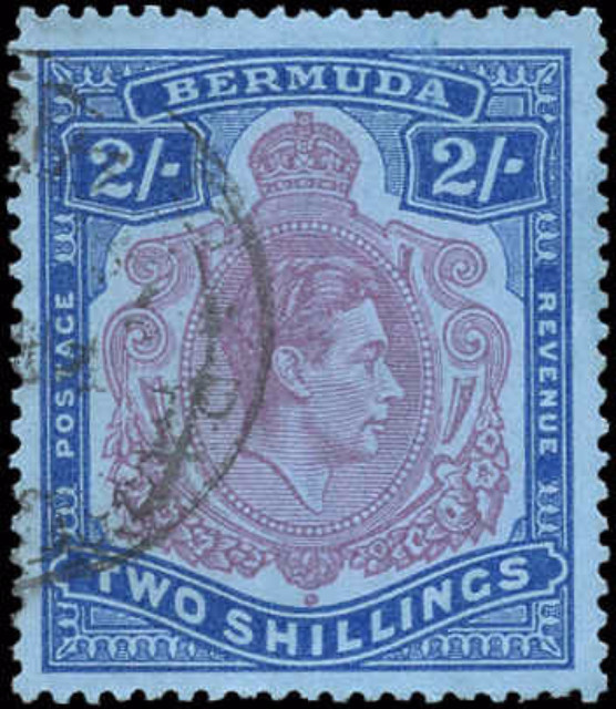 Bermuda Stamp, Scott #123, F-VF, Used