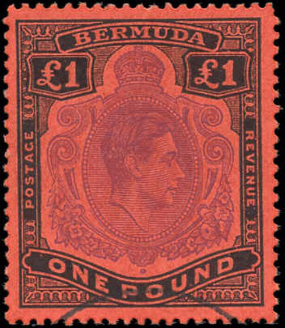 Bermuda Stamp, Scott #128, F-VF, Used