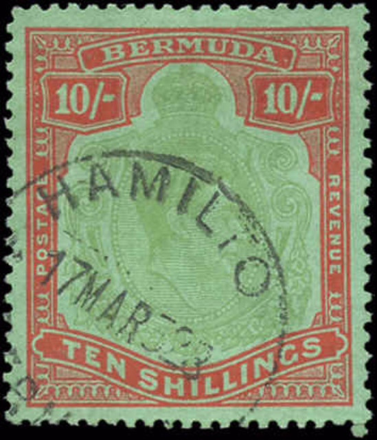 Bermuda Stamp, Scott #126, VF, Used