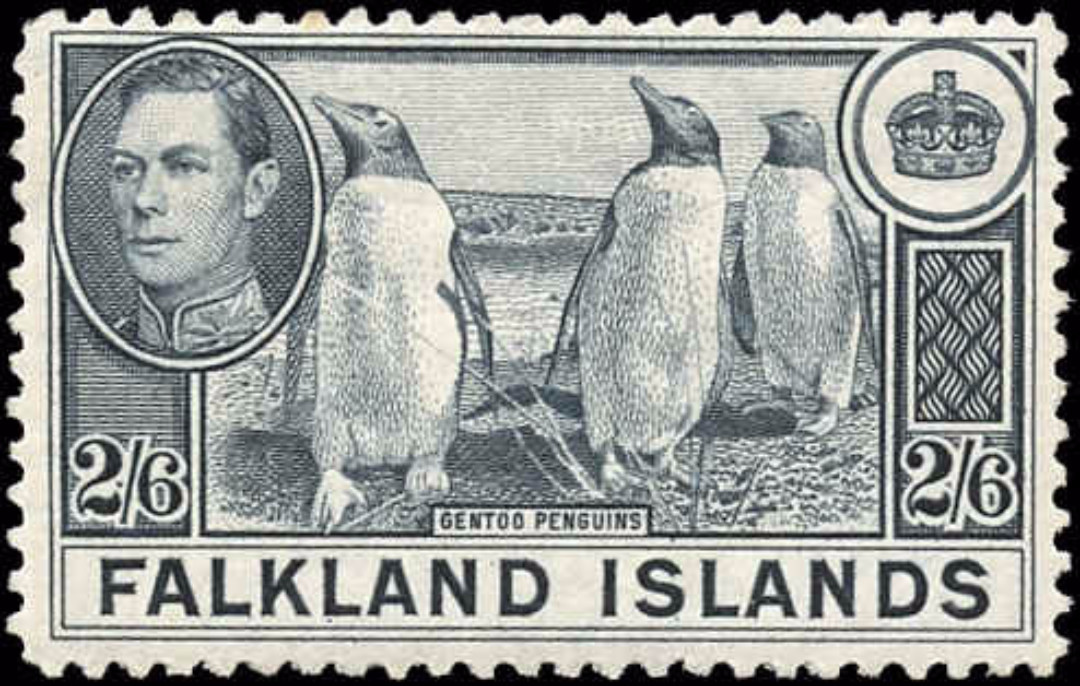 Falkland Islands, ##93, F+, MH