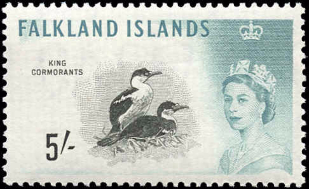 Falkland Islands, #140, F-VF, MH