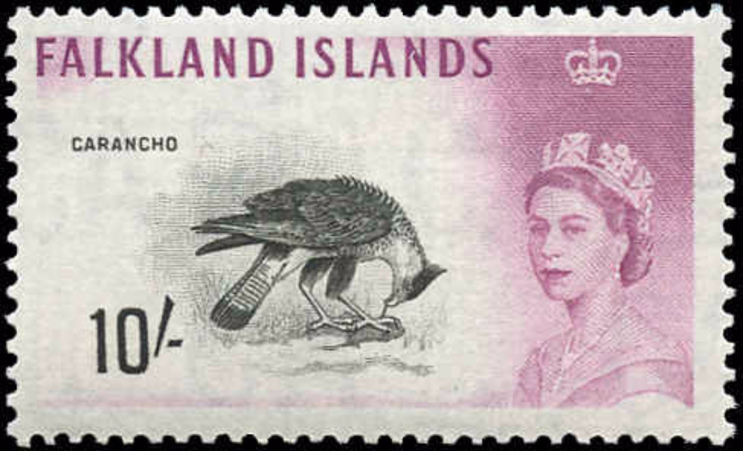 Falkland Islands, #141, F-VF, MH