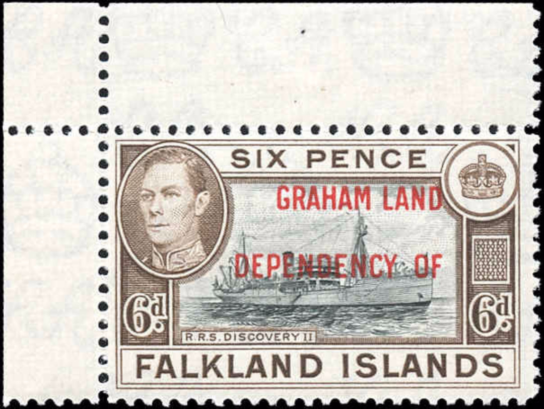 Falkland Islands, 2L6, F+, MNH