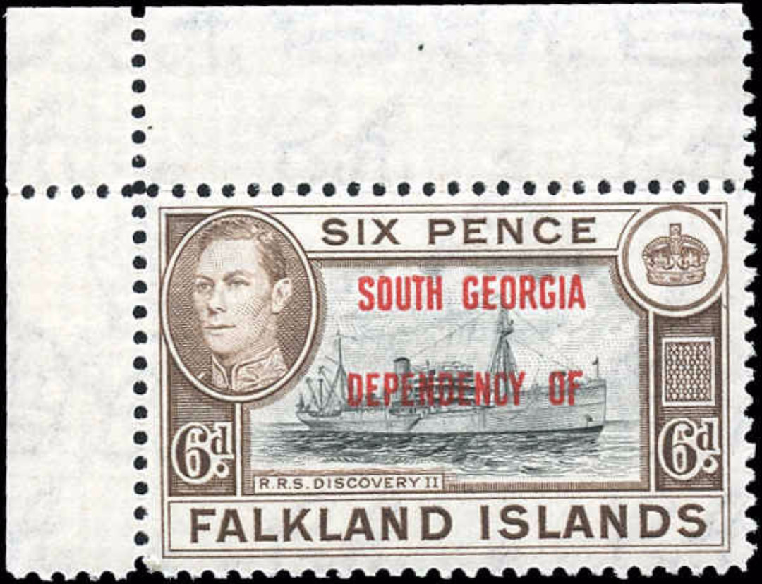 Falkland Islands, 3L6, F+, MNH
