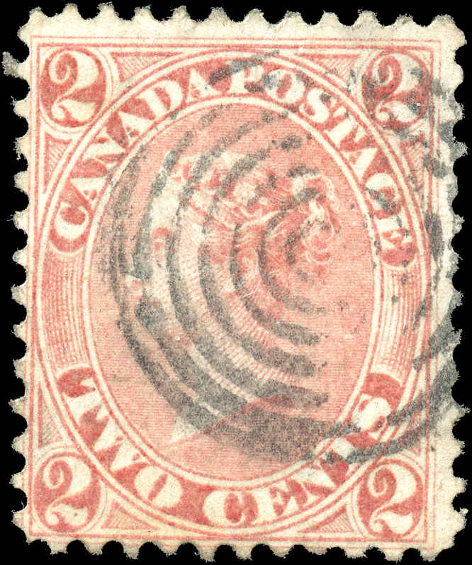 Canada ##20a, First Cents Issue, F, Used