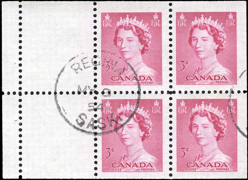 Canada #327b, QEII Issue, F-VF, Used