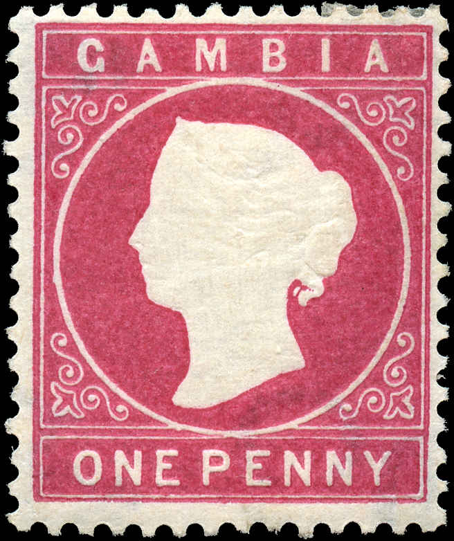 Gambia, ##13, F+, MH