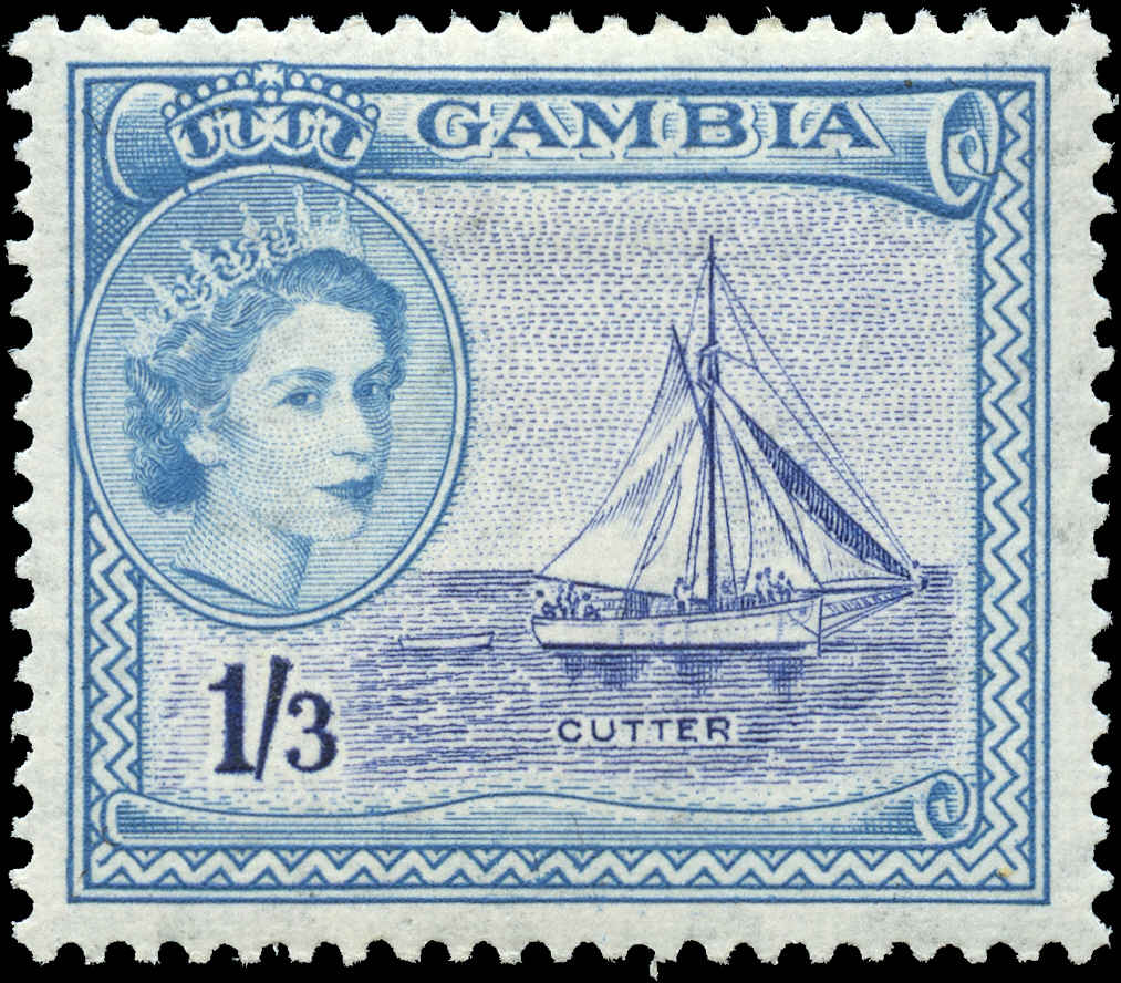 Gambia, #161, VF, MH
