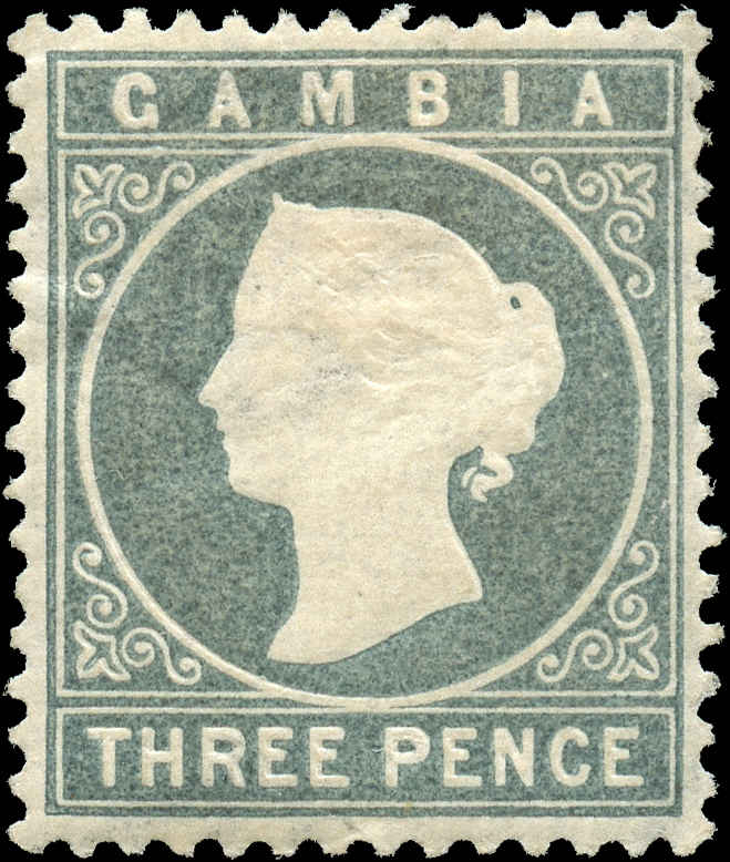 Gambia, ##16, F-VF, MH