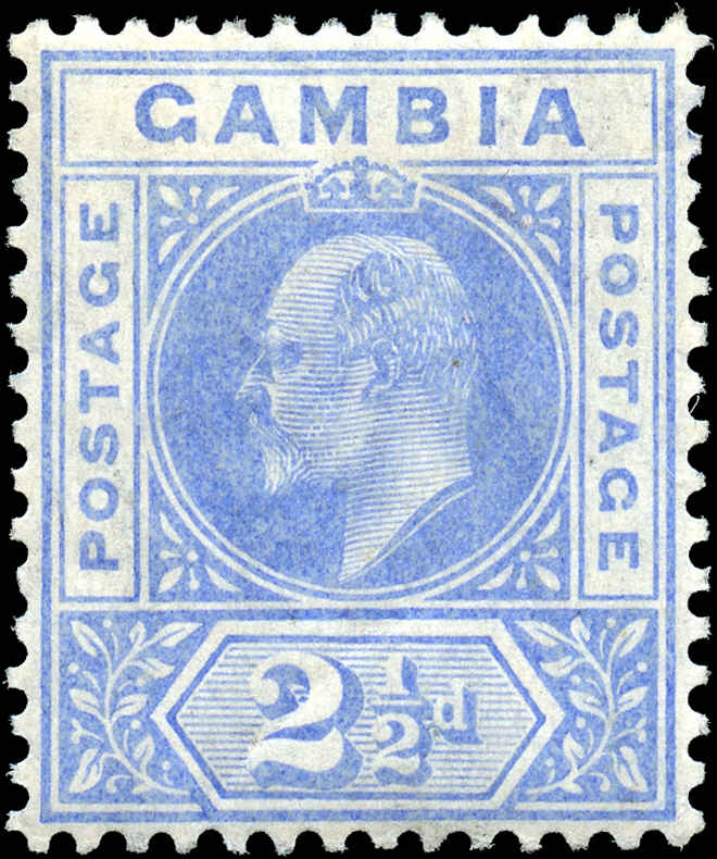 Gambia, ##45, VF, MH