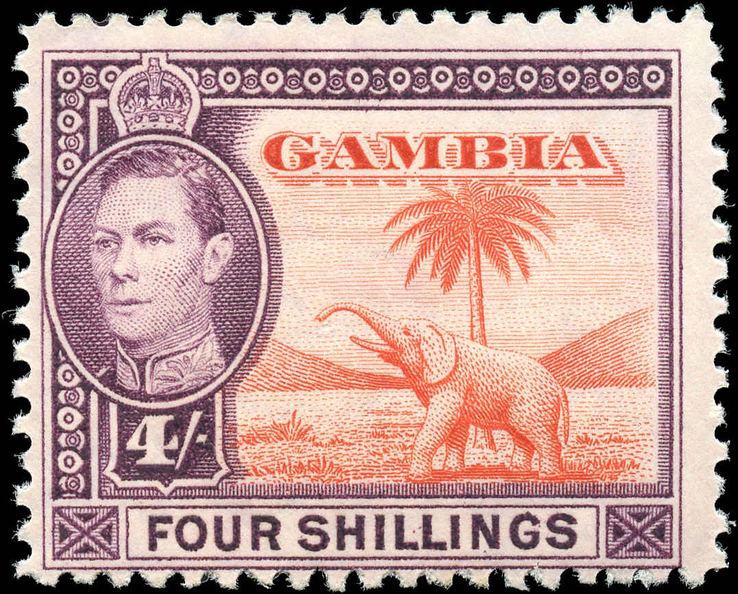 Gambia, #141, F, MH