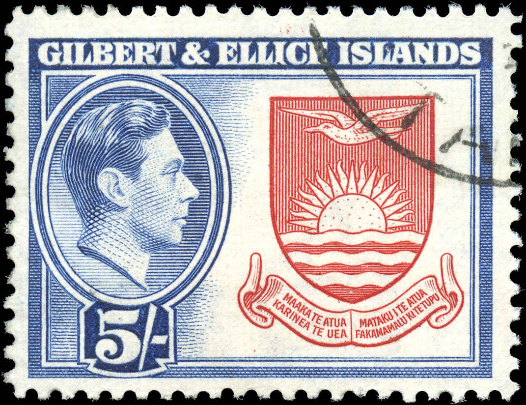 Gilbert & Ellice Islands, ##51, F+, Used