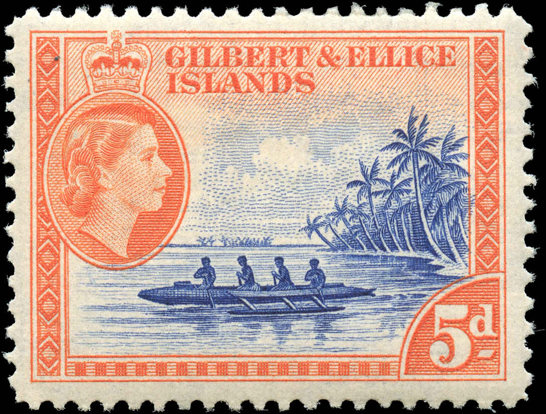 Gilbert & Ellice Islands, ##66, F-VF, MH