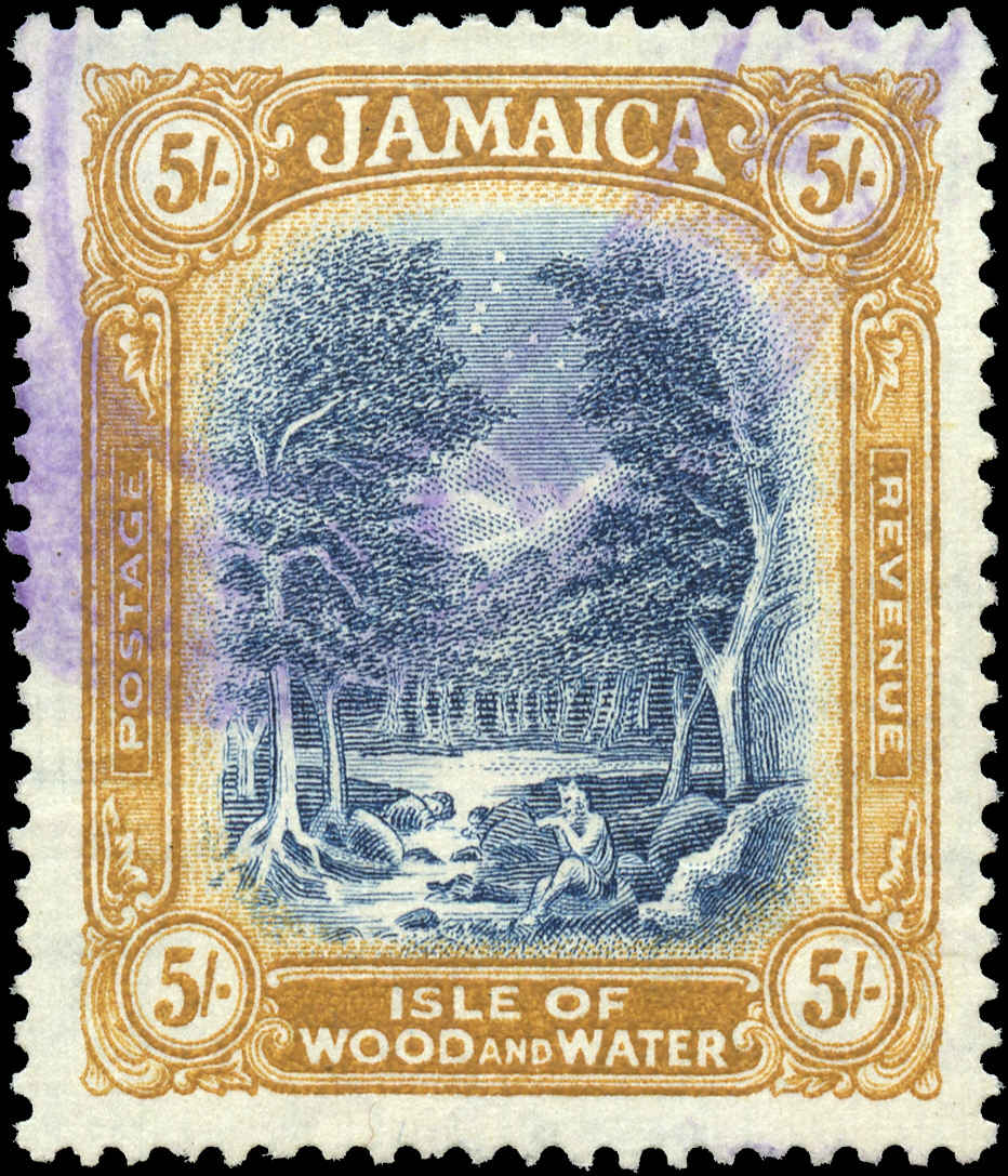 Jamaica, ##99, F-VF, Used