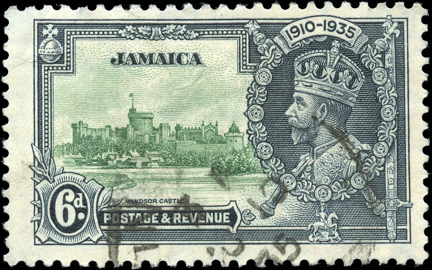 Jamaica, #111, F+, Used